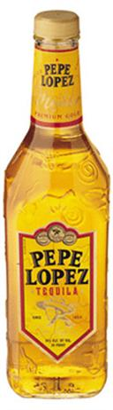 Pepe Lopez Tequila Gold 80@